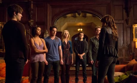 The Vampire Diaries Gang
