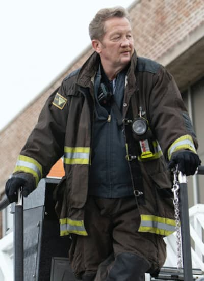 Mouch question - Chicago Fire Season 9 Episode 3