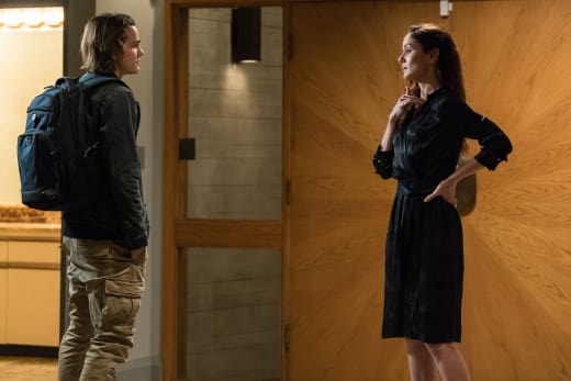 Bram and Katie - Colony Season 3 Episode 7