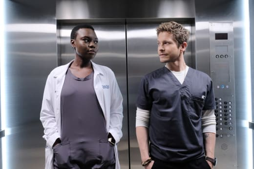 Hawkfor? - The Resident Season 1 Episode 2