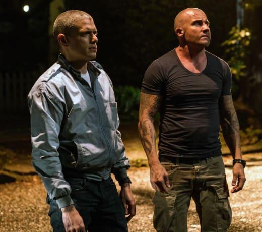 Brothers Unite - Prison Break Season 5 Episode 8