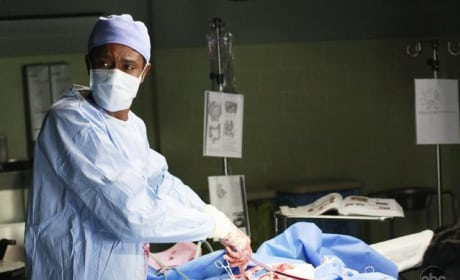 Working it in the O.R.