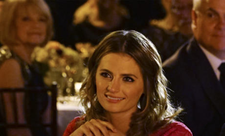Kate Beckett in Red - Castle