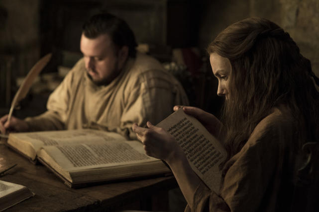 Samwell and Gilly - Game of Thrones