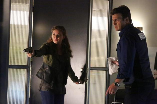 Things Get Tense for Castle
