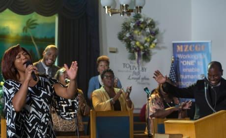 Carlotta at church - Star Season 1 Episode 5