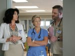Trio of Nurse Jackie Characters