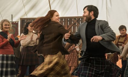 Outlander Stars on Their Interesting, Relatable Couple and Upcoming Emotional Roller Coaster!