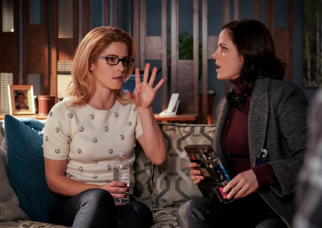 What Is Vigilantism? - Arrow Season 7 Episode 12
