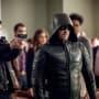 A New Face Under a Familiar Hood - Arrow Season 6 Episode 21