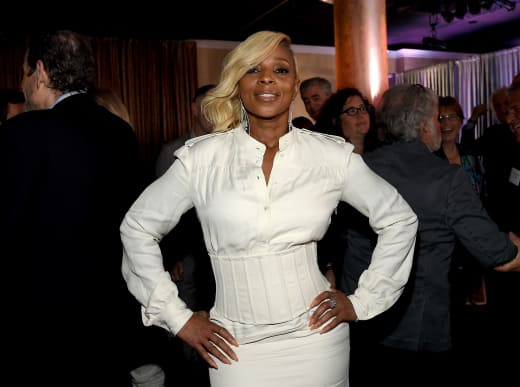 Mary J. Blige Attends Event