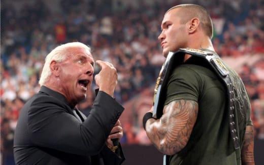 Flair vs. Orton