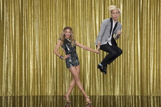 Riker lynch and allison holker dancing with the stars