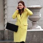 Leighton Meester in Yellow