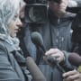 Rabia Chaundra Speaks to Reporters
