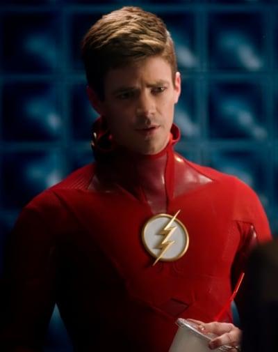 Barry Talks About Reverse Flash - The Flash Season 5 Episode 10