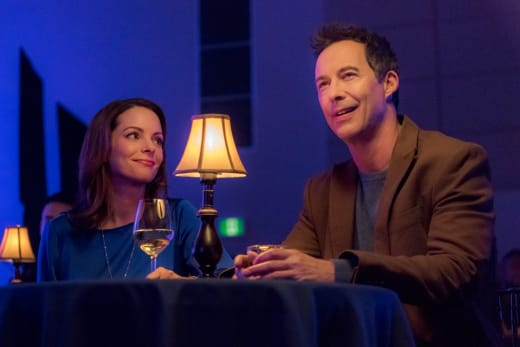 Claire and Miles on a Date