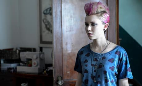 Emma with Pink Hair
