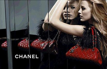 Blake Lively Chanel Ad