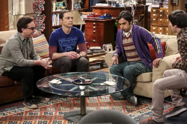 Hanging Out at the Apartment - The Big Bang Theory Season 10 Episode 16