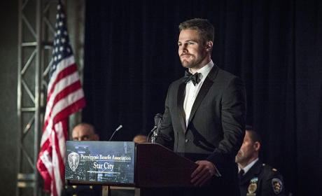 Another Speech - Arrow Season 4 Episode 7