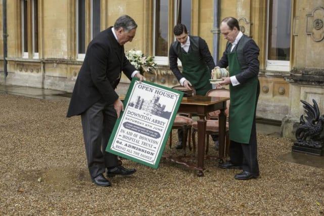 Open house for charity downton abbey season 6 episode 6