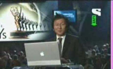 Masi Oka at the Emmys