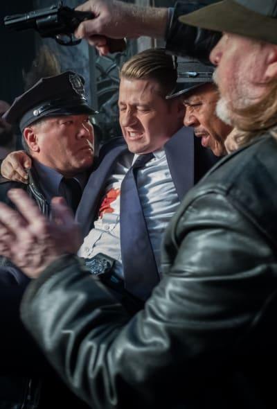 Jim is Shot - Gotham Season 5 Episode 9
