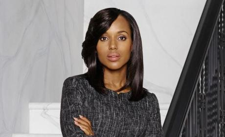 Kerry Washington as Olivia - Scandal