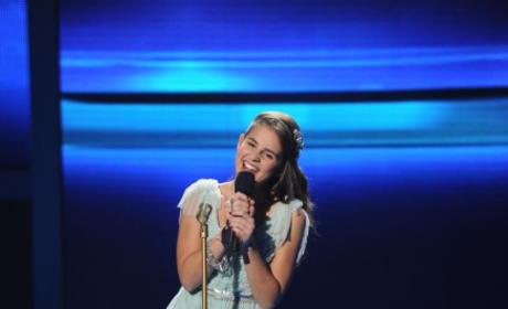 Carly Rose Sonenclar on Stage