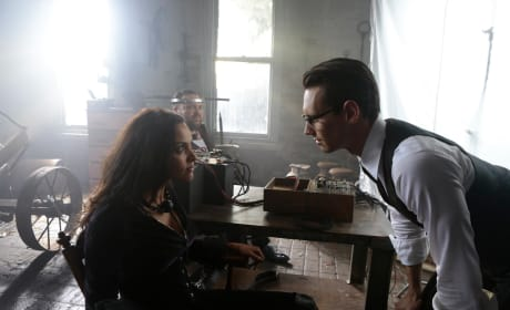Tabitha Tied Down - Gotham Season 3 Episode 10
