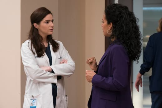 Lauren and Dora - New Amsterdam Season 1 Episode 10