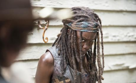 Angry Michonne - The Walking Dead Season 5 Episode 8