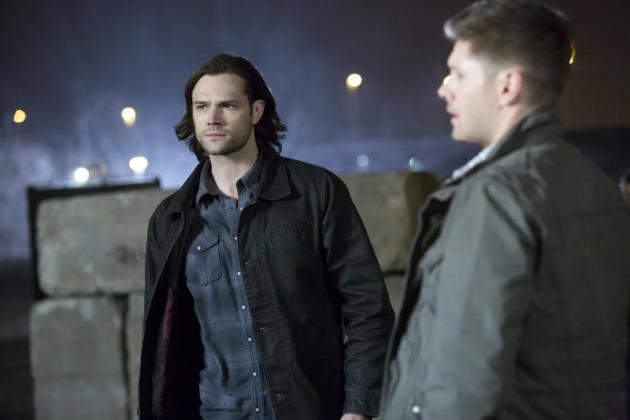 Sam and Dean at Night