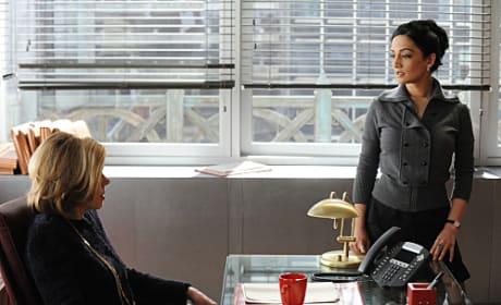 Kalinda with Diane