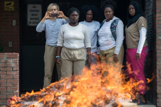 Burn Baby Burn - Orange is the New Black