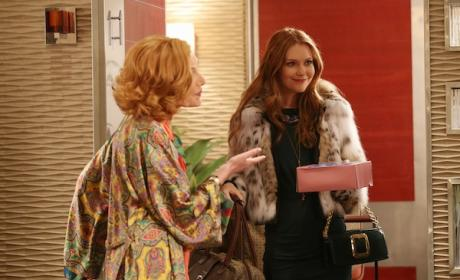 Darby Stanchfield on Castle