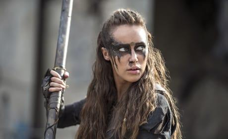 Lexa Looking Fierce - The 100 Season 3 Episode 4