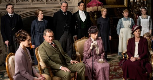 Group Photo - Downton Abbey
