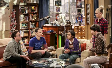 Raj is Stressed - The Big Bang Theory Season 10 Episode 16