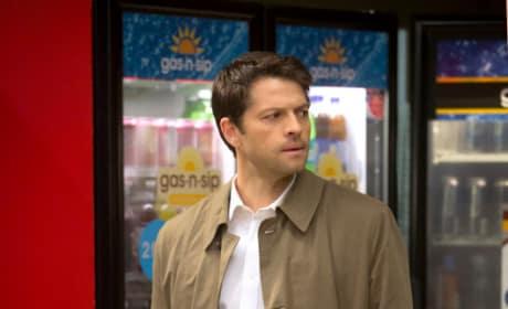 Angel and Vending Machine