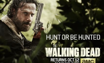 The Walking Dead Season 5 Poster: Hunt or Be Hunted