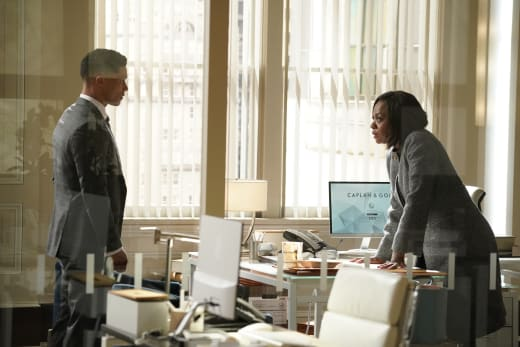 Facing Off - How To Get Away With Murder Season 6 Episode 2