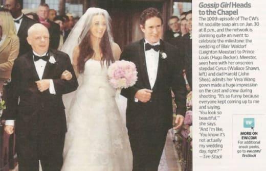 Gossip Girl Wedding Pic