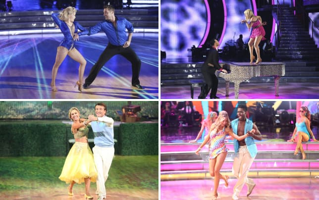 Chris and witney cha cha dancing with the stars s20e2