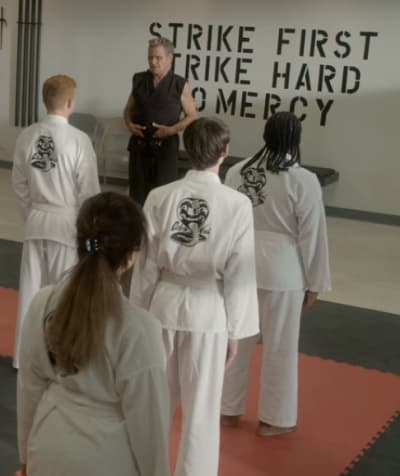 Assembling His Crew  - Cobra Kai Season 3 Episode 1