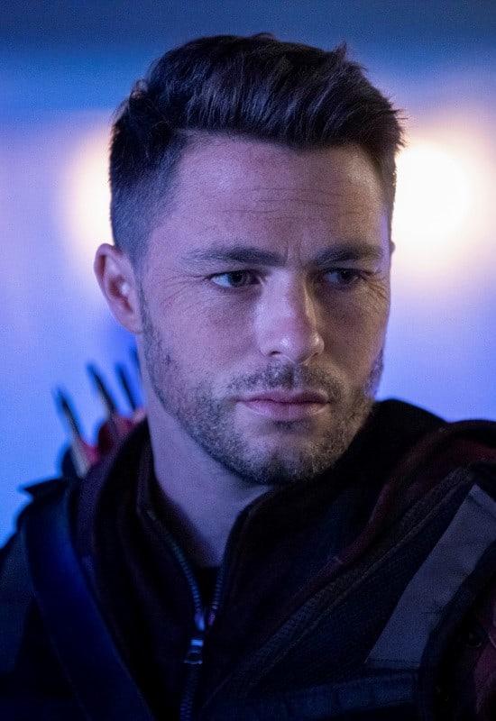 Old Red Jacket Dude - Arrow Season 7 Episode 16