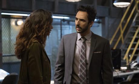 Aram and Samar have a heart-to-heart - The Blacklist Season 4 Episode 4