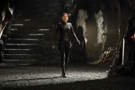 Alex in Battle - Supergirl Season 3 Episode 17
