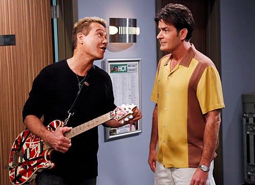 Charlie and Eddie Van Halen